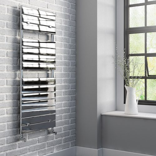 Palmero_Chrome_Heated Towel Rail