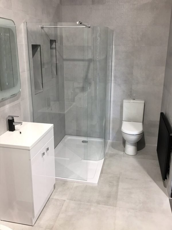 Urban Grey Bathroom Display