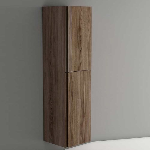 Viena Walnut Wall Hung Tallboy