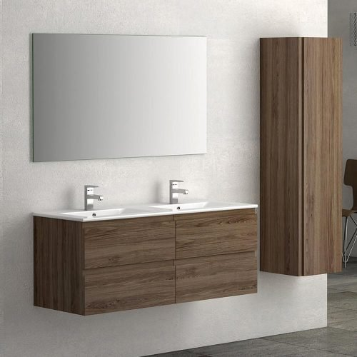 Vienna Walnut 1200 Vanity Unit