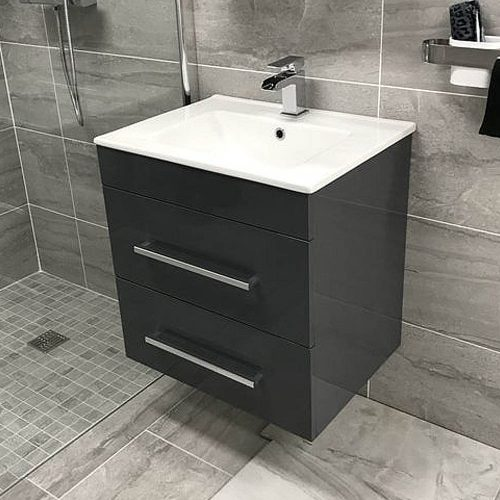 Sorento 600 Wall Hung Unit & Basin​