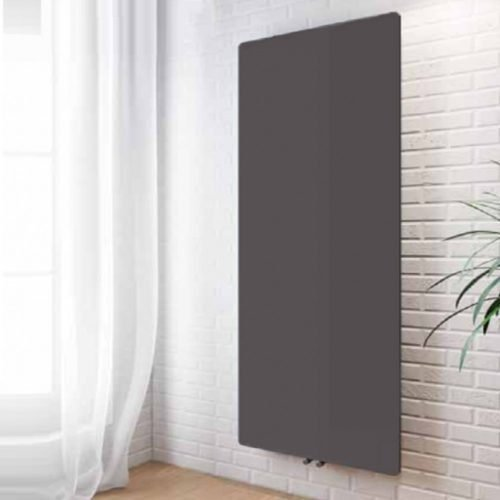 Weston 1190x590 Black Radiator