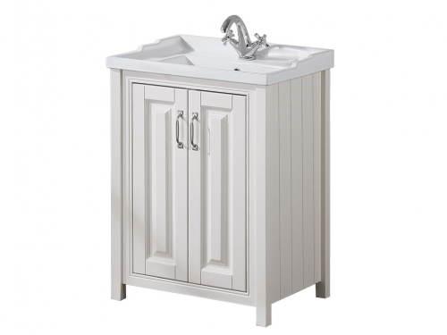 Cottage 600mm 2 Door Vanity Unit Ivory