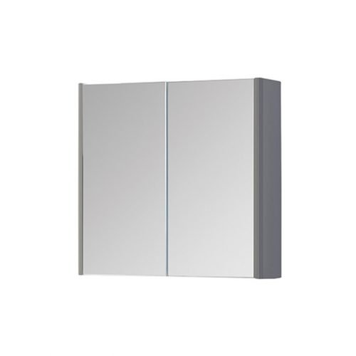 Dante 800mm Mirror Cabinet Grey