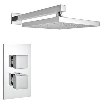 CONCEALED SQR SHOWER V1 WAY